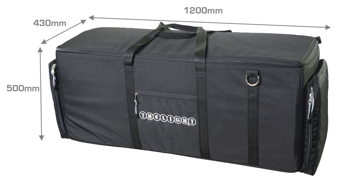 VL1x3-Bag Cordura bag for 3x VELVET 1 kits
