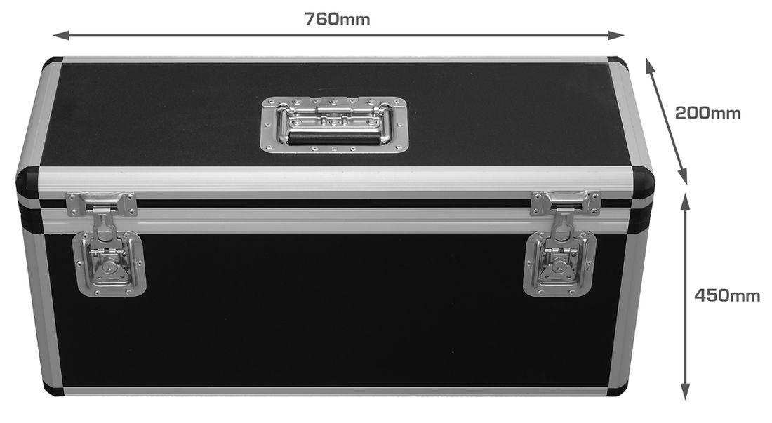 LONG-STUDIO flight case