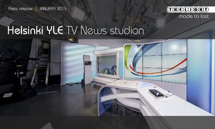 Helsinki YLE TV News studio