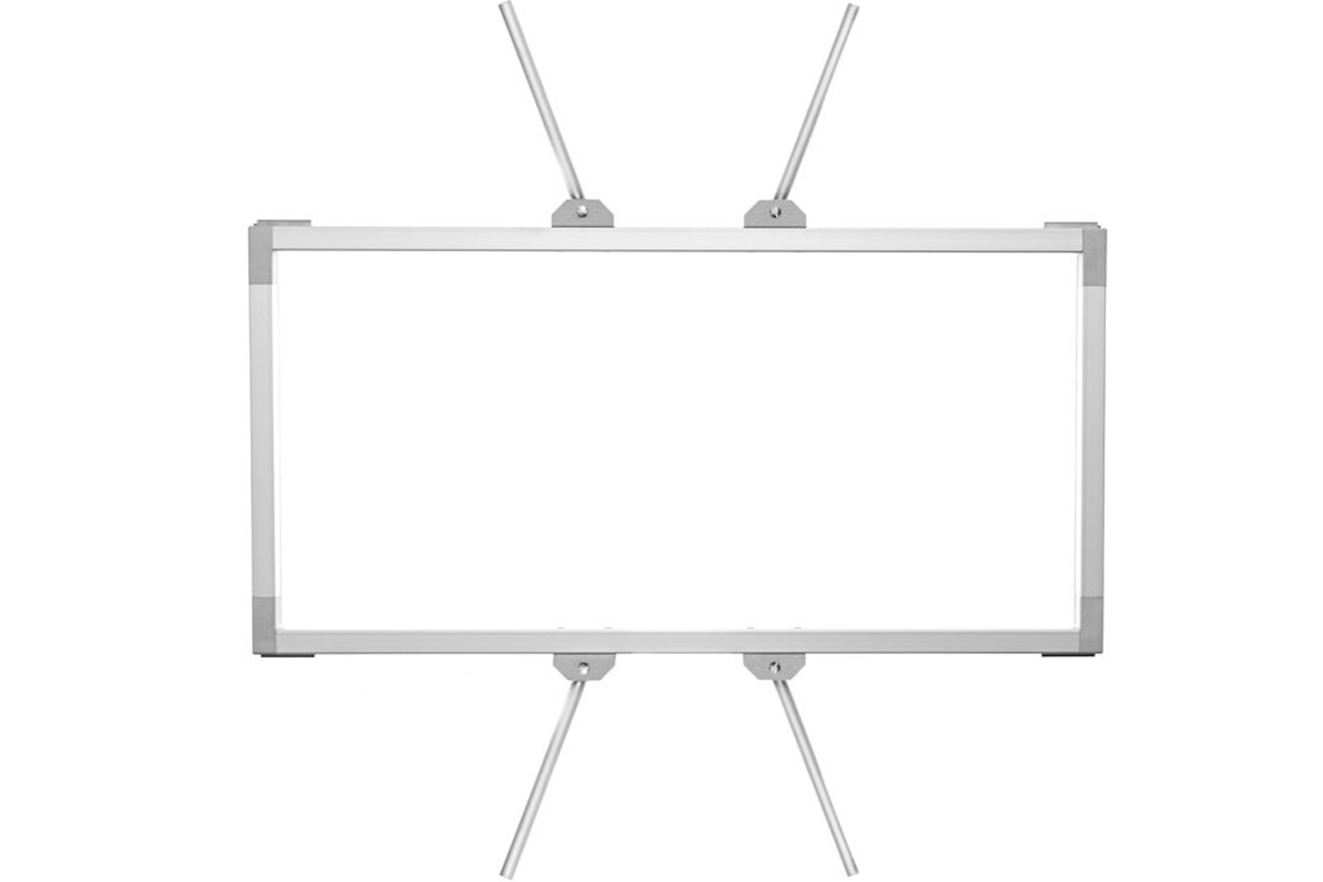 Rabbit Ears Aluminum frame for VELVET 2 Panel