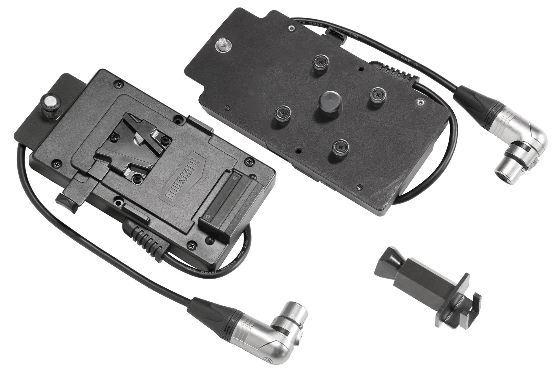 VELVET Mini Vlock XLR3 IP51 angle