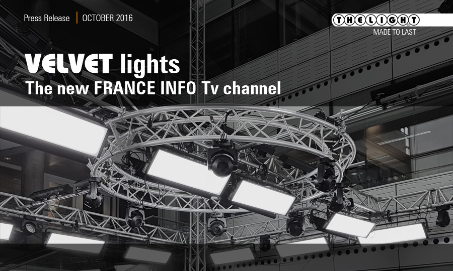 France INFO tv channel Project