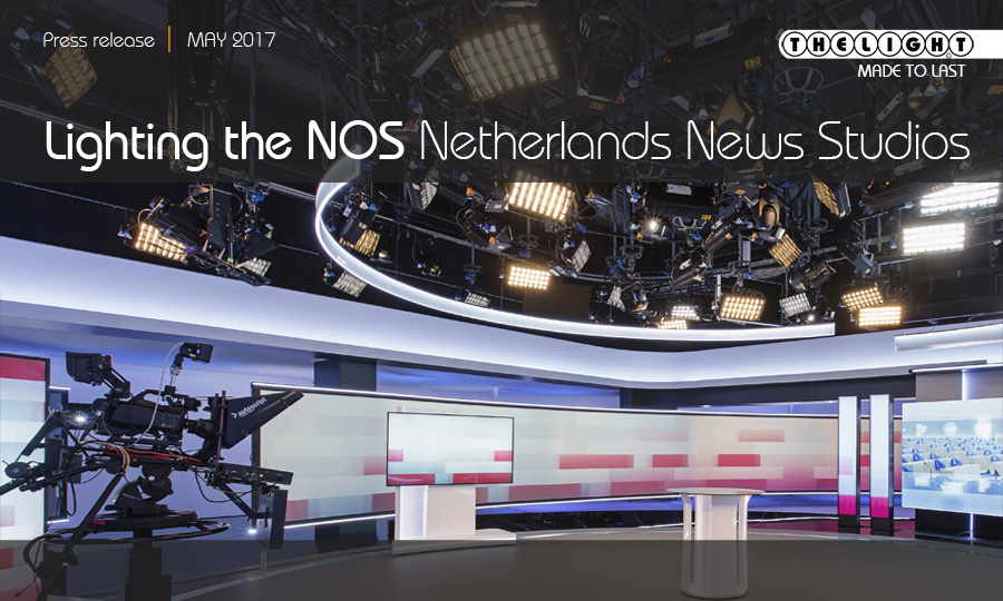 Lighting the NOS Netherlands News Studio