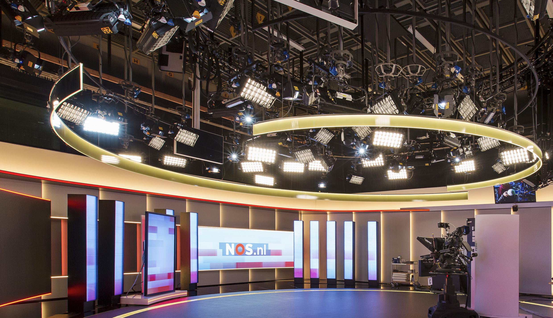 Lighting The Nos Netherlands News Studio Velvet