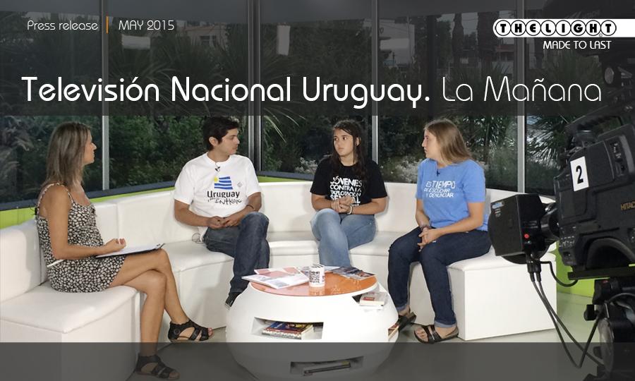 """Canal 5 TV Nacional de Uruguay. """"La Mañana"""""""