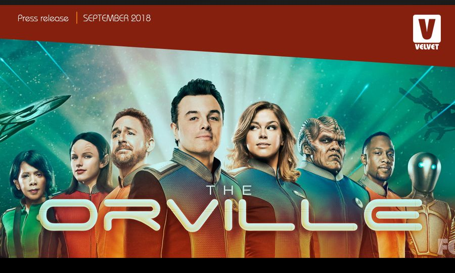 The Orville. An interview with Stephan Daylai